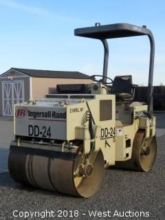 Ingersoll Rand DD-24 Vibratory Smooth Drum Roller