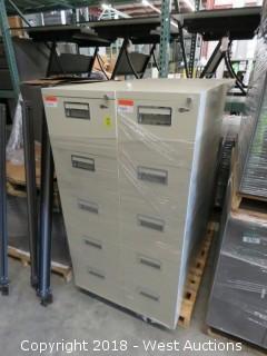 (4) File cabinets