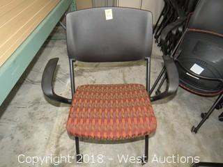 (11) Nesting Conference Room Chairs