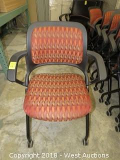 (10) Nesting Conference Room Chairs