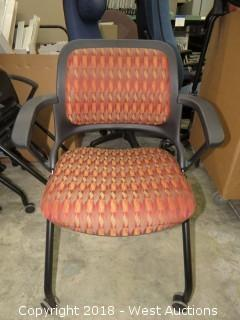 (7) Nesting Conference Room Chairs