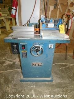 Jet WSS 3.3 Spindle Shaper with CopeCrafter Pneumatic Slider
