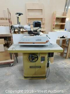 Powermatic Shaper Model 27 wth Maggi Steff Roller Feed