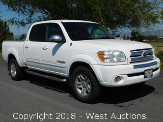 2006 Toyota Tundra SR5 Double Cab Pickup Truck