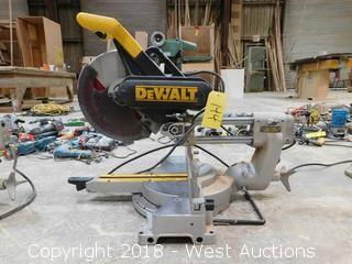 "DeWalt DW708 12"" Sliding Compound Miter Saw"