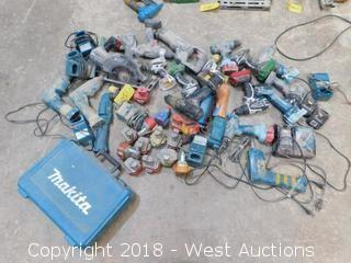 Bulk Lot of Battery Powered Tools