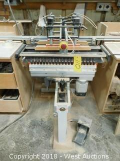 2002 Gannomat Format-42 Multi-Hole Drill Press