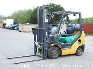 Komatsu 25 Propane Forklift
