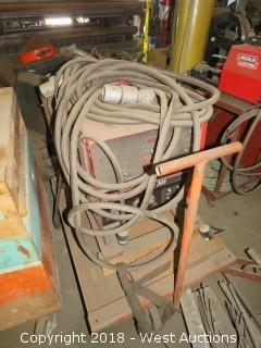 Idealarc CV-305 MIG Welder on Cart