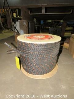 Spool of Twisted Polypro Rope 600' X 1/2""