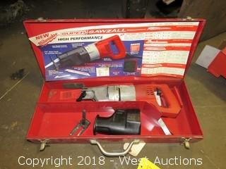 Milwaukee 6527 HD Super Sawzall with Steel Carry Case