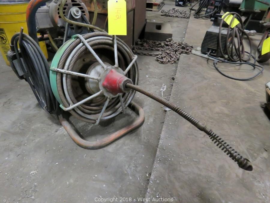 Metal Workshop, Welding Equipment, and Tools