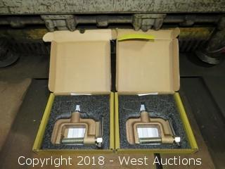 (2) Thermadyne GC-600-50 600A Ground Clamps