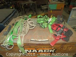 (2) Safety Harnesses and Harnessing Straps