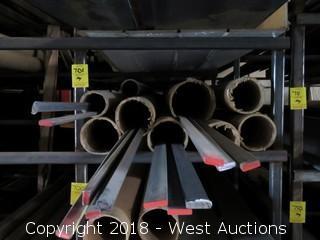 "(12) Hot Roll Steel Recbar Assorted Sizes 1/4""x3/8""-1/4""x1"""