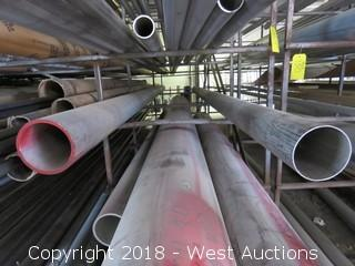 (3) 304 Various Sized Pipes