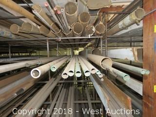 (16) 304 Various Sized Pipes