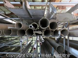 (8) 304 Various Sized Pipes