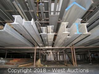 "(10) 6061 I-beams; Sizes: 3""x2 1/2""x.130""x.200""-5""x3""x.0284""x.494"""