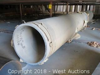 """(1) 12"""" ODX 1/2"""" Wall Aluminum Tube"""