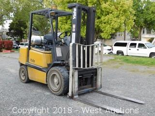 Yale 5,250 Lbs Capacity Propane Forklift