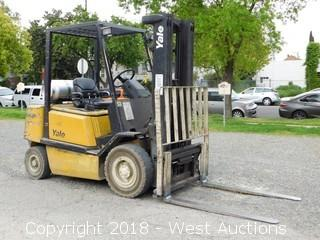 Yale 5,000 Lbs Capacity Propane Forklift
