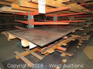"Cold Rolls Steel Sheets; (5) 48""x96"", (7) 24""x48"""
