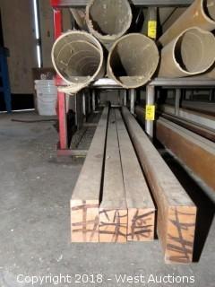 """Copper: (4) 1.5""""x2.5"""" Recbar"""