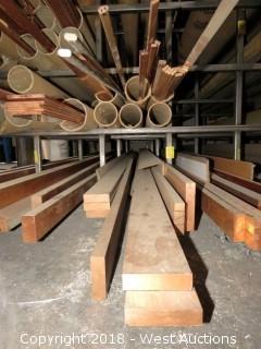 """Copper: (5) 3/4""""x2.5"""", (2) 3/4""""x3"""", (1) 3/4""""x4"""" Recbar"""