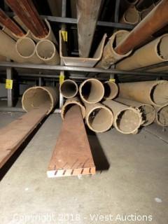 """Copper: (1) 3/8"""" x 2.5"""" Recbar"""