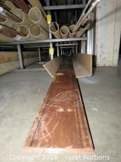 """Copper: (1) 1/4"""" x 5"""" Recbar"""