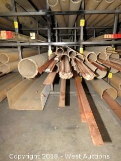 """Copper: (5) 1/8""""x1"""", (2) 1/8""""x3/4"""", (24) 1/8""""x5/8"""", (23) 1/8""""x1/2"""", (2) 1/8""""x3/8"""", (1) 1/8""""x5"""", (2) 1/8""""x2"""", (3) 1/8""""x1.5"""" Recbar"""