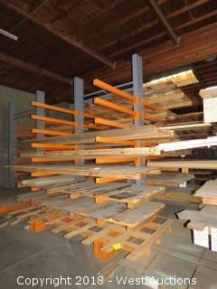Double-Sided 12' Cantilever Material Rack (rack only)