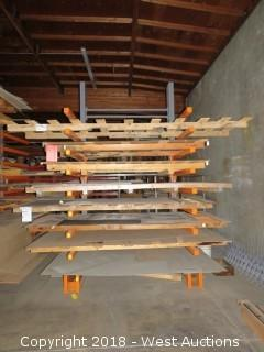 Cantilever Material Rack (rack only)