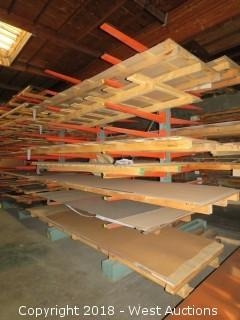Double-Sided Cantilever Material Rack (rack only)