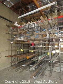 Bar Storage Material Rack (rack only)