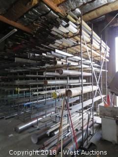 Bar Storage Material Rack (rack only)