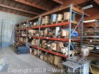 (4) 10' Sections of Pallet Racking (pallet racks only)