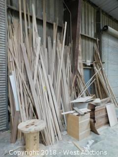 Bulk Lot of Hardwood Molding and Trim