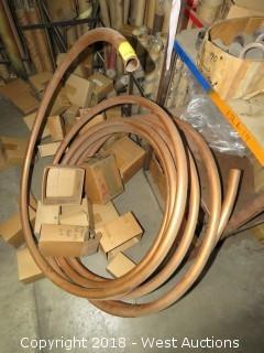 Spool Of Copper Tubing