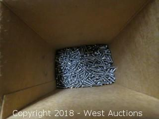 (18+) Boxes of Fillister Head Slotted Machine Screws, Bind Slotted Machine Screws and Round Headed Slotted Machine Screws