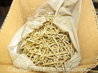 (12+) Boxes of Oval Slotted Wood Screws, Flat Phillips Wood Screws and Pan Phillips Machine Screws