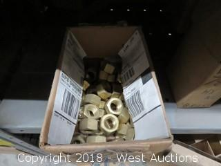 (4+) Boxes of Hex Nuts and Flat Slotted Machine Screws