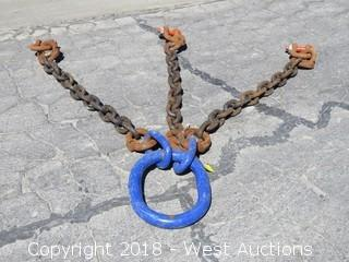 61-Ton 3-Point Rigging Sling