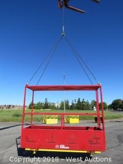 Lifting Technologies REC06-1500SO Crannable Personnel Platform with Rigging