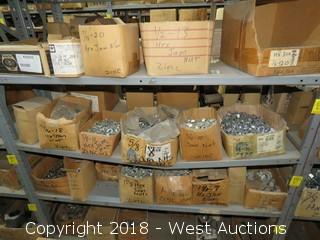 (9) Boxes of Jam Nuts, Hex Jam Nuts, Hex Head Bolts, and Hex Cap Screws