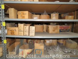 (8+) Boxes of Ball Valves, Screen Strainers, Mall. Washers, and Bevel Washers