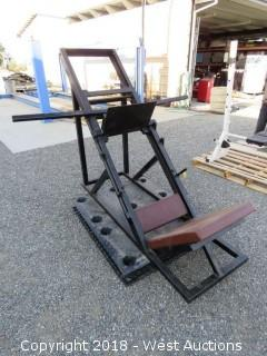 Inclined Leg Press Bench