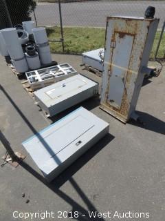 (4) Industrial Circuit Breaker Frames
