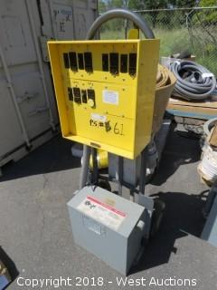 Ericson E-Cart JR, Mobile Temporary Power Distribution Center